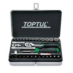 """Набор инструментов для автомобиля TOPTUL 1/4"""" 32ед. GCAD3204"""