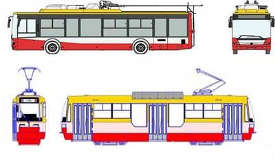Лобовые стекла на троллейбусы и трамваи