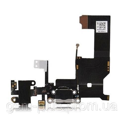 Шлейф iPhone 5 Charge Black complete