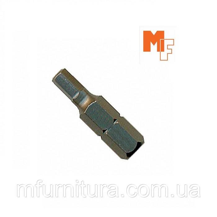 Бита (конфирматная) S2 4*25мм-MF Китай