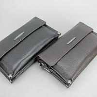 Клатч чоловіча коричневий! Шкіряна сумочка-клатч Armani 3410-2 з натуральної шкіри