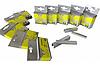 Скоби для степлера будівельного Сталь 62112 Т53, 8х11.3 мм, 1000 шт