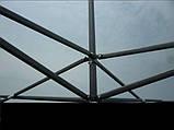 Шатёр торговый 3х3 черный метал,шатер,шатер купить,шатер раздвижной,(ШАТЕР УСИЛЕННЫЙ АФГАНИСТАН)пром, фото 4