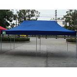 Шатер торговый 3х4,5,Черный метал  (Афганистан)шатры для торговли,намети,шатер садовый, фото 3