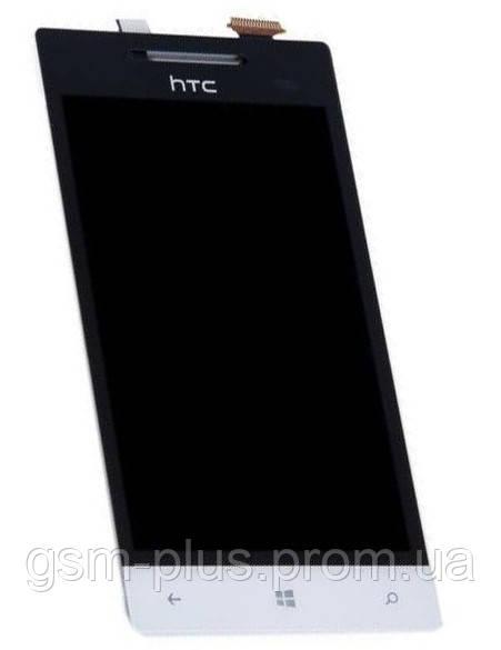Дисплей HTC Windows Phone Rio 8S A620e complete White