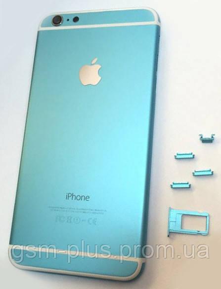 """Крышка задняя iPhone 6 Plus (5.5"""") Blue Right"""