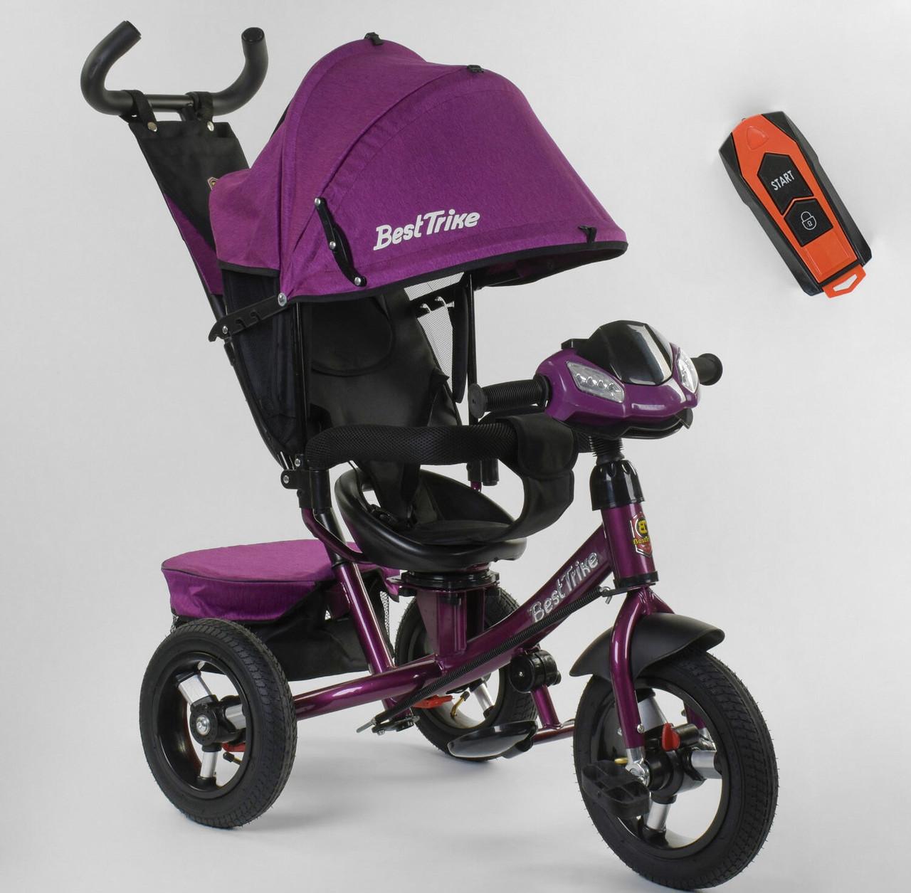 Велосипед 3-х колёсный 7700 В / 76-839 Best Trike фиолетовый 87784