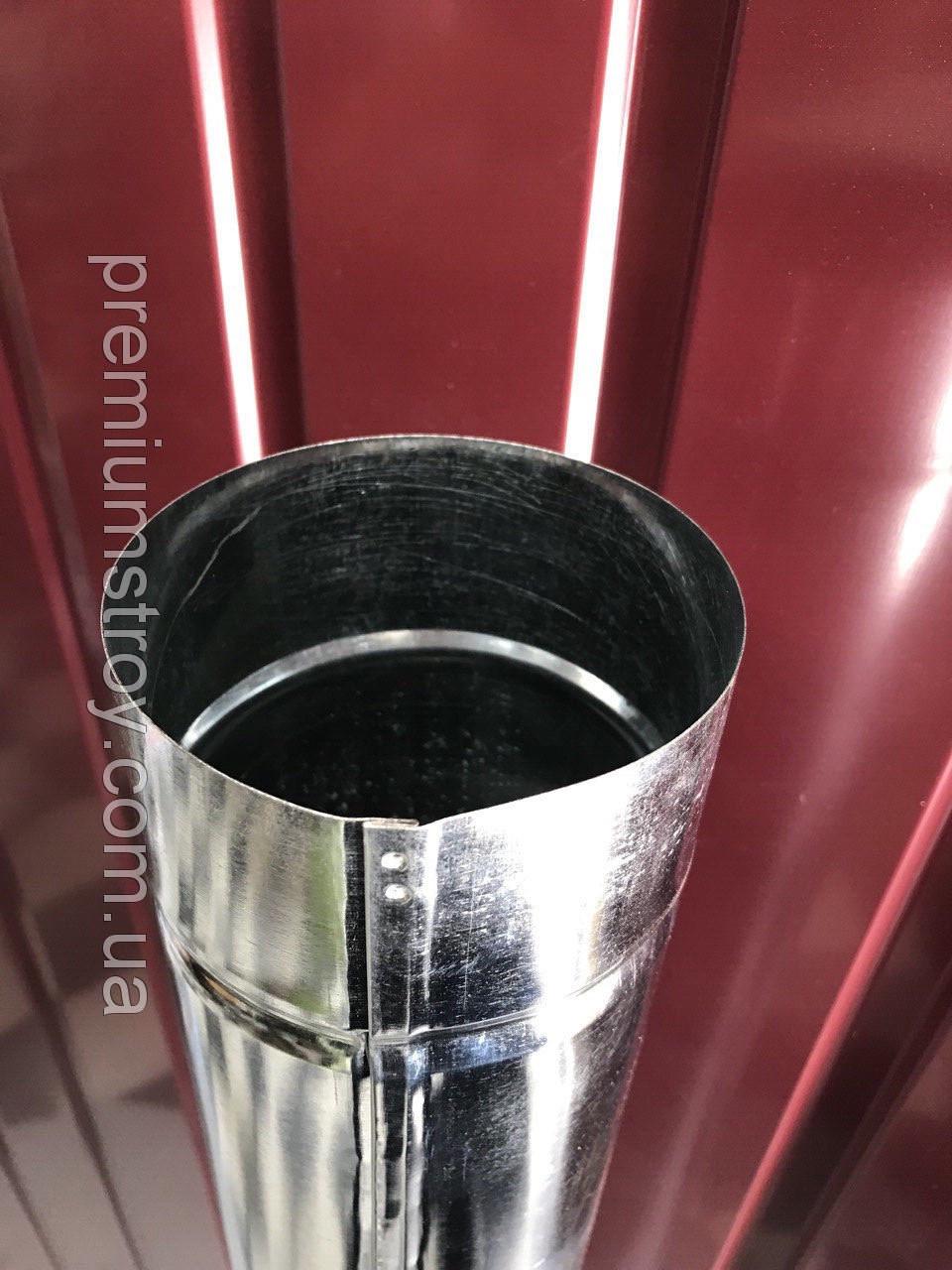 Труба оцинкована, діаметр 100 мм цинк 0.40, довжина 1.25 м