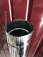 Труба оцинкована, діаметр 100 мм цинк 0.40, довжина 1.25 м, фото 1