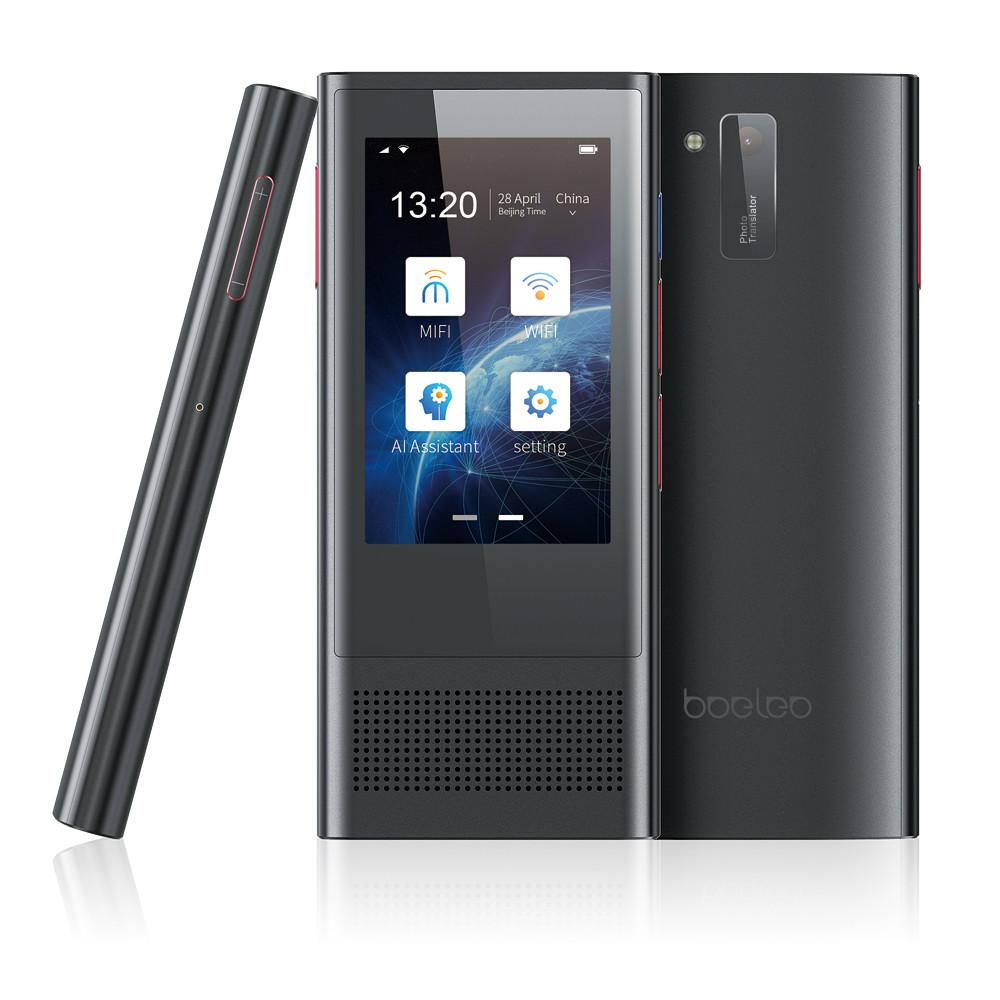 Boeleo W1 3.0 BF301 AI Переводчик 3,1-дюймовый сенсорный экран Поддержка 117 языков Поддержка офлайн-фотосъемки 4G Перевод фотографий-1TopShop