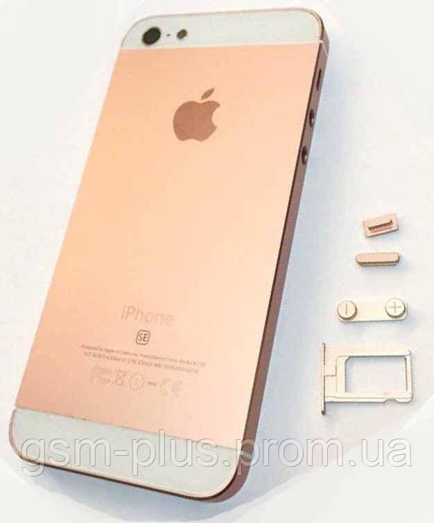 Крышка задняя iPhone 5 подобно iPhone SE Champagne