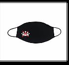 Маска защитная тканевая многоразовая с принтом., фото 3