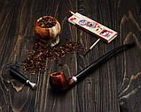 Классическая трубка KAF219 Churchwarden Apple с длинным мундштуком из дерева груши, фото 8
