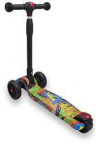 Детский Самокат scooter smart Maraton - самокат со светящимися колесами SMART Print, фото 3