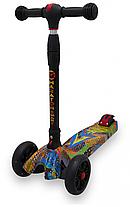 Детский Самокат scooter smart Maraton - самокат со светящимися колесами SMART Print, фото 2