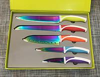 Набор кухонных ножей Messer-Set Titanium 5шт / АХ54/24, фото 1
