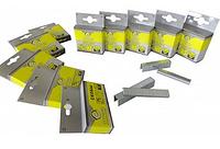 Скоби для степлера будівельного Сталь 62114 Т53, 12х11.3 мм, 1000 шт