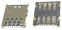 Сим коннектор для Samsung G355 / G360 / G361 / G900 / J100 / J200 SIM