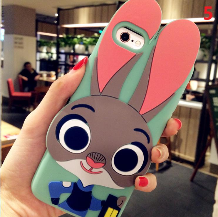 3D чехол бампер ЗАЙЧИК силиконовый для Xiaomi Redmi 3/Note 3 детский