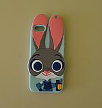 3D чехол бампер ЗАЙЧИК силиконовый для Xiaomi Redmi 3/Note 3 детский, фото 2