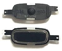 Кнопка центральная Samsung S7262 Black