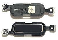 Кнопка центральная Samsung G7102 Black