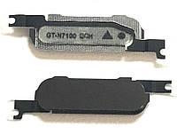 Кнопка центральная Samsung N7100 Black