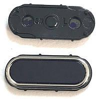 Кнопка центральная Samsung J110 Black