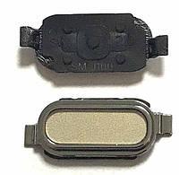 Кнопка центральная Samsung J100 Gold
