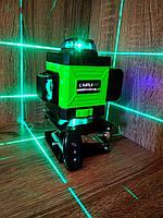 ᐉБИРЮЗОВЫЙ ЯРКИЙ ДИОДᐉ LAIRUI 4D Лазерный уровень li-ion +ПУЛЬТ+КРОНШТЕЙН в подарок ᐉОТКАЛИБРОВАН, фото 1