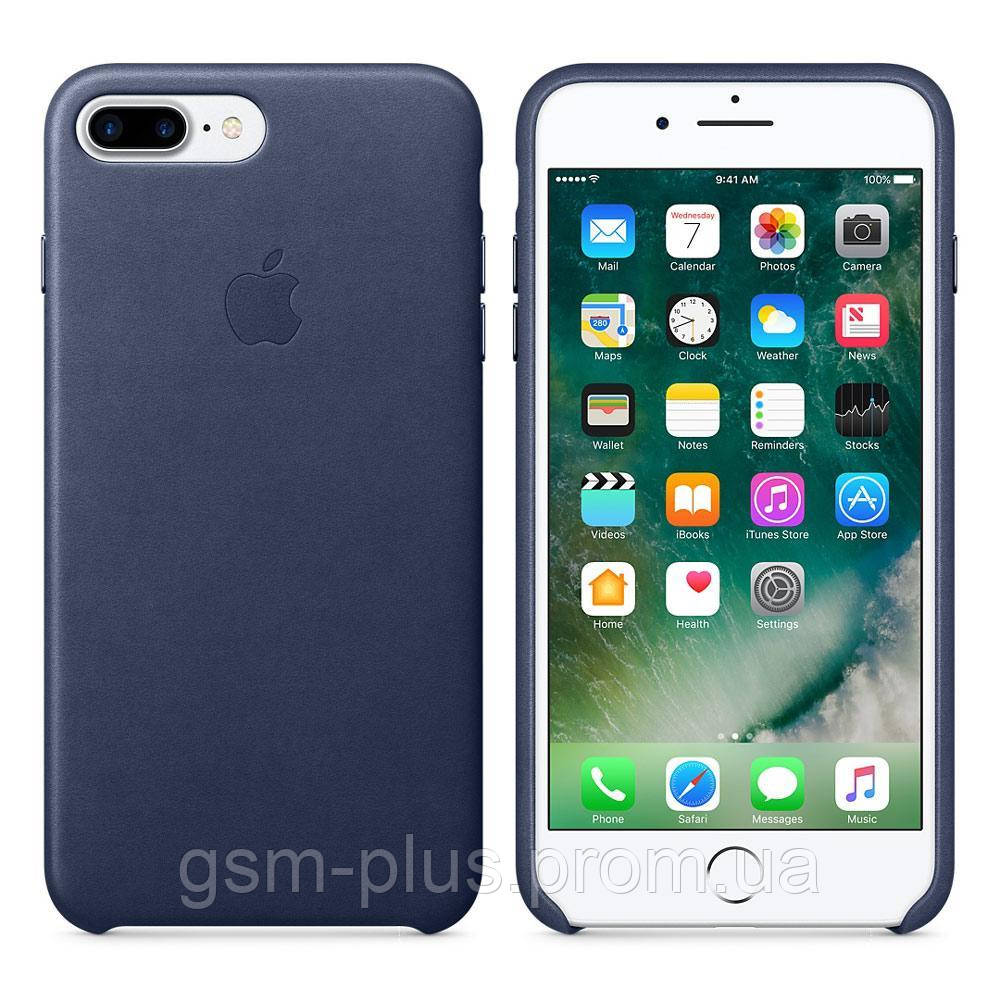 Чехол (Silicone Case) для iPhone 7 Plus / iPhone 8 Plus Blue