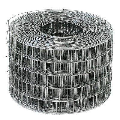 Сетка сварная 1,6x50x50 мм 1x30 м оцинкованная (кв.м)