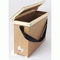 Ящик переносной с ремнем на 4 рамки Дадан