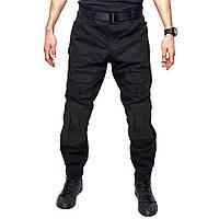 Тактические штаны Lesko B603 Black 34 размер брюки мужские милитари камуфляжные с карманами