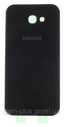 Задняя часть корпуса Samsung Galaxy A7 (2017) A720 Black
