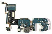 Разъем зарядки Samsung G955 Galaxy S8 Plus complete with flat and mic Original, фото 1