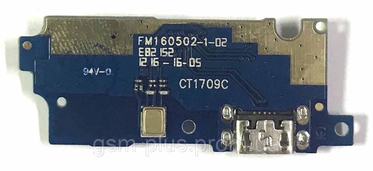 Разъем зарядки Meizu M3 / M3 Mini Charge (с платкой)