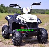 Детский электромобиль квадроцикл с мотором 40W Bambi M 4131E-1 белый