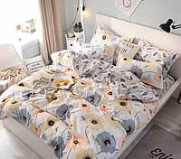 Постельное белье 2 - спальное с цветами