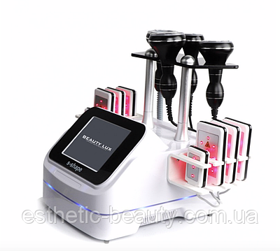 Косметологический аппарат BEAUTY LUX S-Shape Вакуум, Липолазер, Кавитация, RF лифтинг