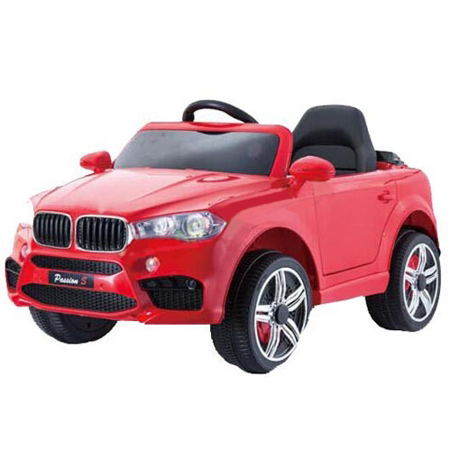 Детский электромобиль T-7830 EVA RED  джип Р/У 2*6V4,5AH мотор 2*25W