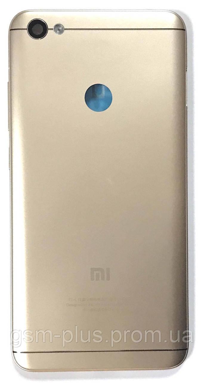 Задняя часть корпуса Xiaomi Redmi Note 5a Prime Gold