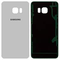 Задняя часть корпуса Samsung Galaxy S6 Edge + G928 (White)