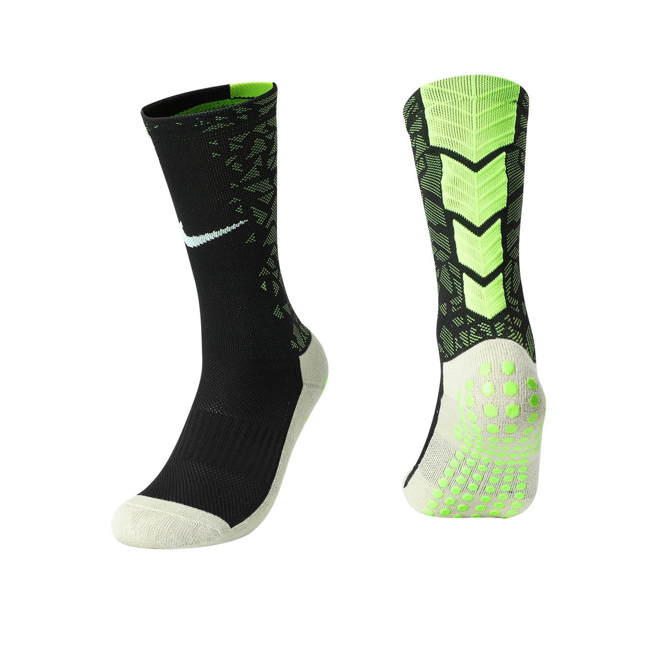 Тренувальні шкарпетки Nike (чорний+салатовий)
