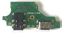 Разъем зарядки Huawei P20 Lite / Nova 3e (с платкой), фото 1