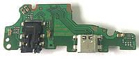 Разъем зарядки Huawei Mate 10 Lite / Nova 2i (RNE-L21 / с платкой), фото 1