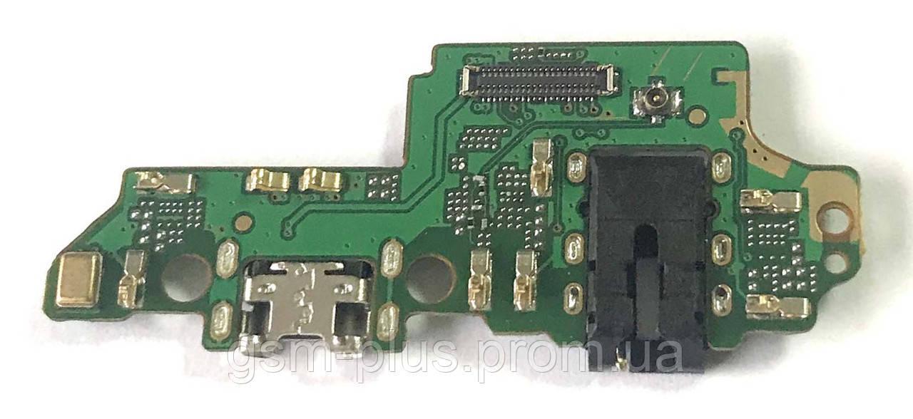 Разъем зарядки Huawei Honor 7x (BND-L21C10 / с платкой)