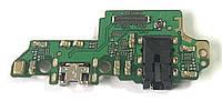 Разъем зарядки Huawei Honor 7x (BND-L21C10 / с платкой), фото 1