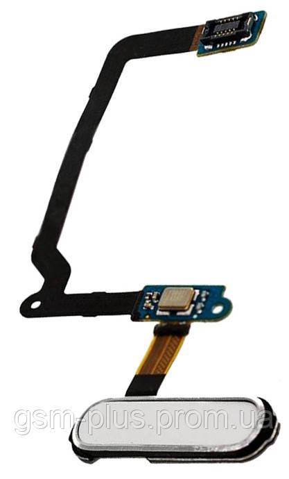 Кнопка центральная Samsung S5 G900 White