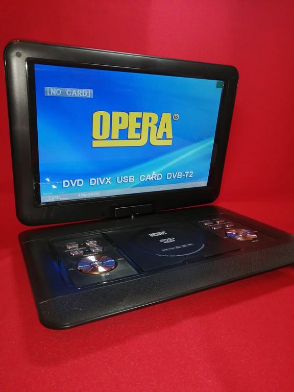 """Портативный DVD-проигрыватель Opera OP-1630 Т2 с экраном 21"""" дюймов"""